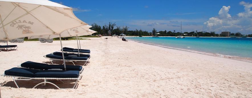 Mullin's Beach sunbeds